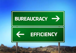 Bureaucracy vs Efficiency